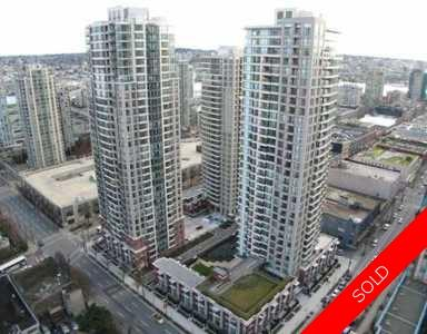 Yaletown/Downtown Condo for sale: Yaletown Park 1 bedroom 502 sq.ft. (Listed 2009-04-13)