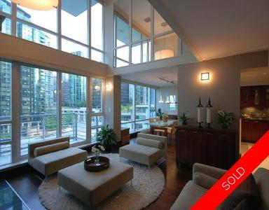 Coal Harbour Condo for sale: Cascina 2 bedroom 1,220 sq.ft. (Listed 2009-06-09)