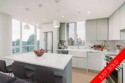Yaletown Apartment/Condo for sale: The Peninsula 2 bedroom 983 sq.ft. (Listed 2021-01-20)