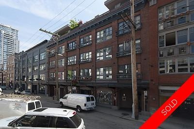 Old Yaletown Warehouse Conversion for sale: The New Yorker 1 bedroom  (Listed 2009-07-15)